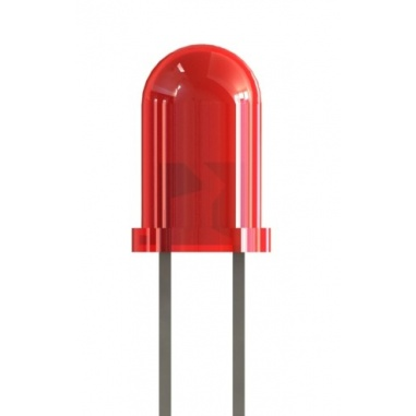 3mm Red Colored LED(pack of 5)