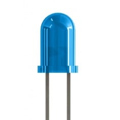 5mm Blue Colored LED (pack of 5)
