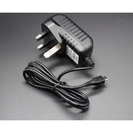 5v 3a Micro Usb Ac/dc Power Adapter Uk Plug Charger Supply