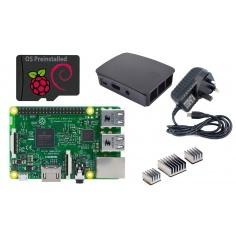 Raspberry Pi 3 Starter Kit - Black