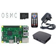 Raspberry Pi 3 Media Center Kit - Black