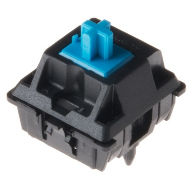 Cherry MX Desktop profile mechanical switches 0.61 inch- Blue