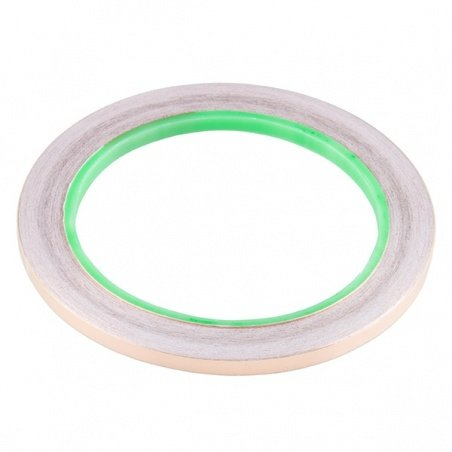 Copper Tape - Conductive Adhesive, 5mm (50ft)