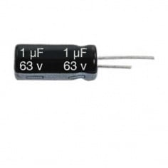 1uF/25v Electrolytic Capacitor (Pack of 2)