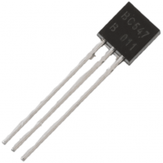 Transistor - BC547 (NPN) (Pack of 5)