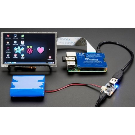 PowerBoost 1000 Charger - Rechargeable 5V Lipo USB Boost @ 1A - 1000C