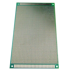 Single Side Copper prototype pcb -13cm x 25cm