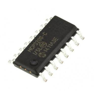 MCP3208 ADC