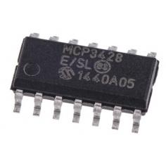 MCP3428 16-bit ADC