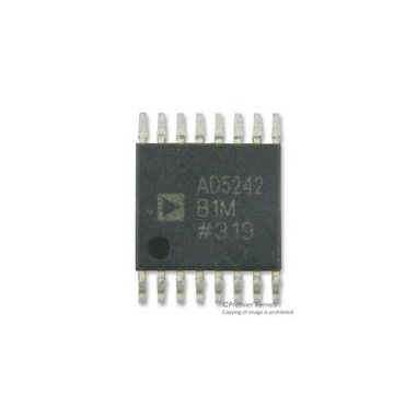 AD5242 Dual-Channel, I2C® Compatible, 256 Position, Digital Potentiometer