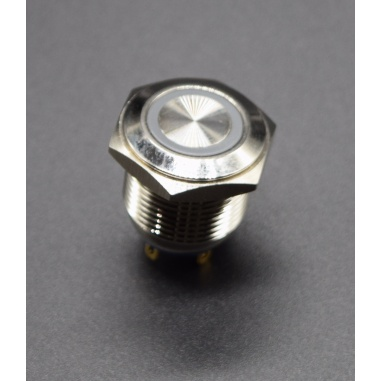 16mm metal button switch