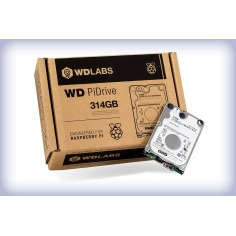 WD PiDrive 314GB