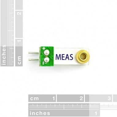 Piezo Vibration Sensor - Small Vertical