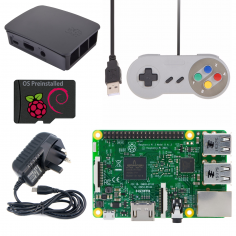 Raspberry Pi 3 Gaming Kit - Black