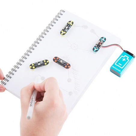 Circuit Scribe - 9V Battery Adapter