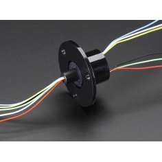 SRC012 - Compact Slip Ring Slip rings with flange 240v/2Amps