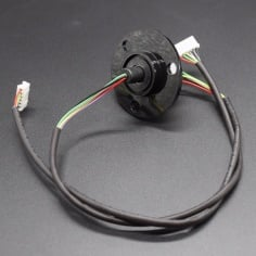 SRC022 - Compact Slip Ring Slip rings with flange 240v/2Amps