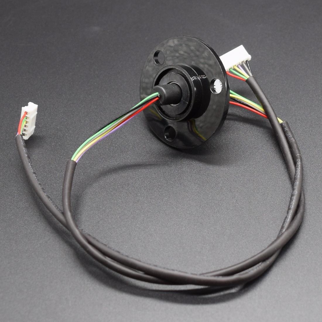 SRC022 - Compact Slip Ring Slip rings with flange 240v/2Amps