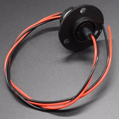 MSC-22-0210A - Compact Slip Ring Slip rings with flange 240v/10Amps