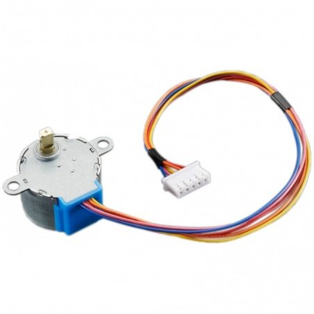 Small Unipolar Stepper Motor - 5V DC 32-Step 1/16 Gearing