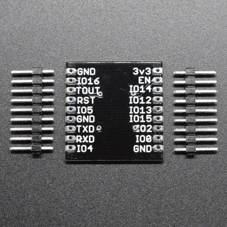 ESP-WROOM-02 DIP through Hole Adapter PCB