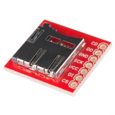 SparkFun microSD Transflash Breakout