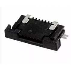 CONNECTOR FFC FPC TOP 6POS 0.50MM R/A