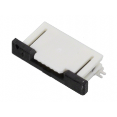 CONNECTOR FFC TOP 6POS 0.50MM R/A
