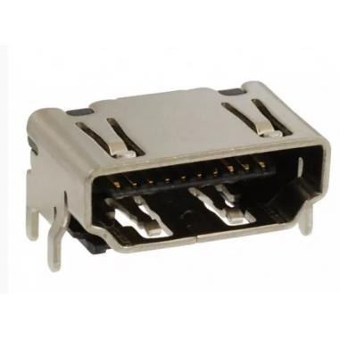 CONN RCPT HDMI TYPE A R/A SMD