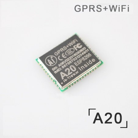 A20 GSM, GPRS, Wifi Module with Camera Support