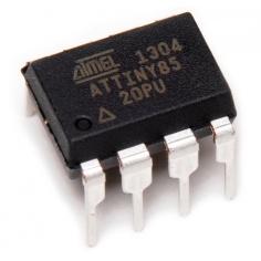 AVR 8 Pin 20MHz 8K 4A/D - ATtiny85