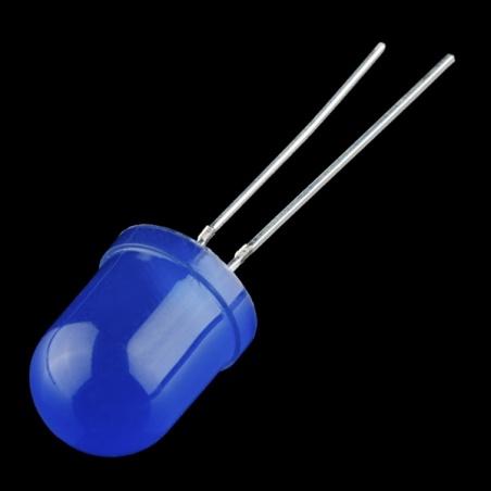 Diffused LED - Blue 10mm