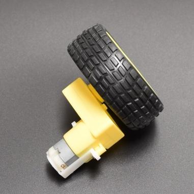 300 RPM DC Geared Motor