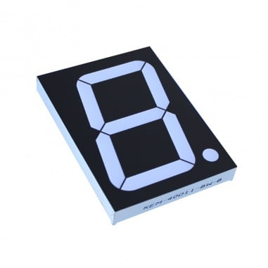 Big 7 Segment Display common Anode - Red Color