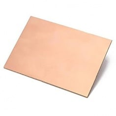 FR4 Copper Clad Double sided - 10 x 15 CM