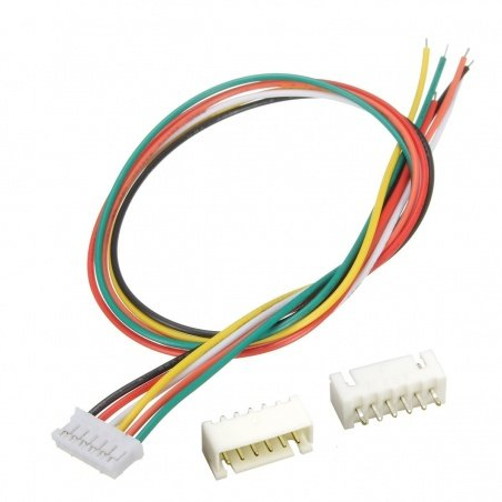 JST XH 6-Pin Connector set