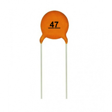 47pf Ceramic Capacitor Pack Of 5