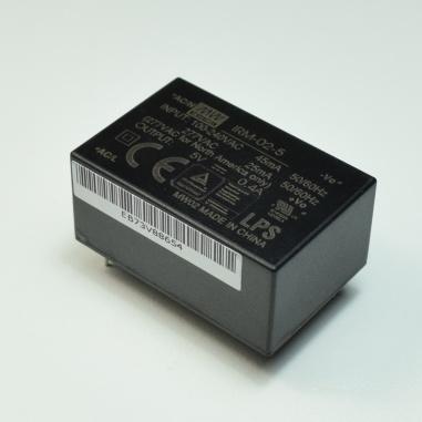 AC/DC Power Modules 2W 5V 400mA 85-305Vin PCB Encap: IRM-02-5