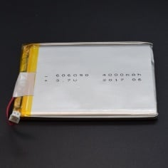 3.7v Lithium Ion (Lipo) Battery - 4000mAH