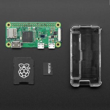Raspberry Pi Zero W Basic Pack - Includes Pi Zero W