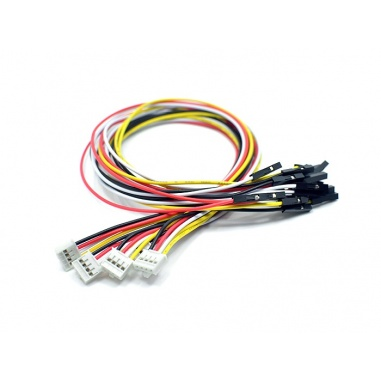 Grove - 4 pin Female Jumper to Grove 4 pin Conversion Cable (5 Pcs per Pack)