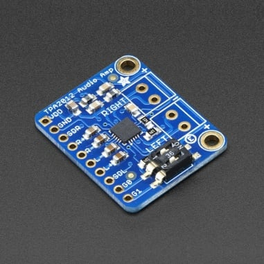 Stereo 2.1W Class D Audio Amplifier - TPA2012