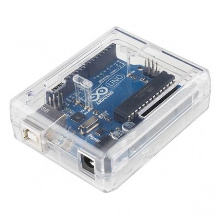 Arduino Uno Enclosure - Clear Plastic