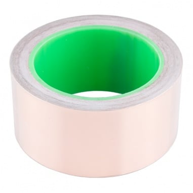 """Copper Tape - Conductive Adhesive, 2"""" (50ft)"""