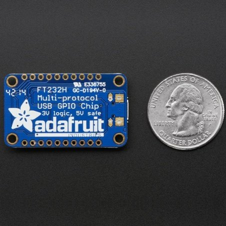 Adafruit FT232H Breakout - General Purpose USB to GPIO+SPI+I2C