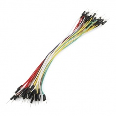 "Jumper Wires Standard 7"" M/M - 30 AWG (30 Pack)"