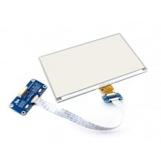 Waveshare 7.5inch E-Ink display HAT for Raspberry Pi, three-color
