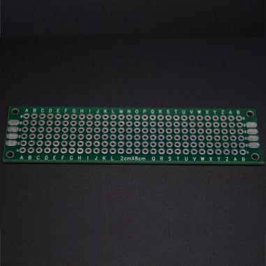 Double Side Copper prototype pcb - 3cm x 7cm