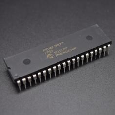 PIC16F18877-I/P - 8 Bit Microcontroller, PIC16F, 32 MHz, 56 KB, 4 KB, 40 Pins, DIP