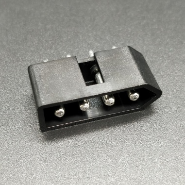 Molex-0010181041, Through Hole 4 Positions Header Connector